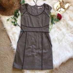 Gorgeous Rebecca Taylor Fall Brown Tweed Dress